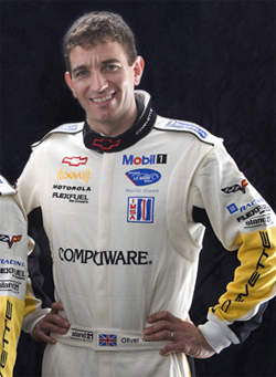 Oliver Gavin drove the No. 4 Chevrolet Corvette C6.R to his 32nd ALMS victory in the 100 minute Tequila Patron ALMS at Long Beach California
