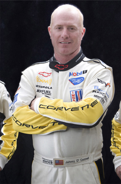 Corvette Racing Driver Johnny O'Connell is ready to move to the new GT class in the American La Mans Series