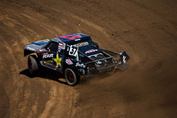 RJ Anderson racing Polaris UTV at Lucas Off-Road Racing Series Round 7