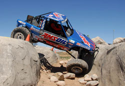 Lovell Racings' Rock Crawler Rig. Photos by: Jud Leslie.