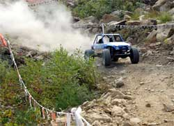 Fabtech Ford Ranger is undeterred through the XRRA Nationals Course
