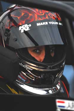 Holland Native Laura Poorter at Irwindale