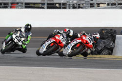 K&N backed LTD Racing's Tomas Puerta and David Gaviria swept the Daytona AMA Pro SuperSport races.