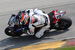 Huntley Nash earned a 13th place finish in the highly competitive Daytona SportBike race.