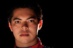 NASCAR K&N Pro Series West Racer Luis Martinez Jr.