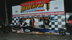 Bogacki's dragster has already carried him to a variety of victories since it's completion in 2009. Photo by BME Photography