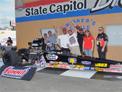 IHRA Mardi Gras Nationals Quick Rod Win for Luke Bogacki, photo by BME Photography