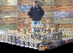 Luke Bogacki claimed 4 IHRA National Event Titles in 2008 and at least $50,000 in Bracket money