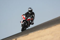 Learning to ride off-chamber turns at speed requires a deft touch.