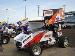 VORTEX Racings' Lynton Jeffrey