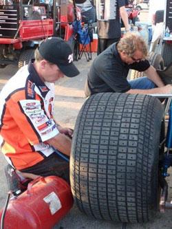 Vortex Racing Products Team Crew Chief Glen Saville