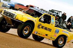 This marked the 2nd consecutive Parker 425 win for Glass and his trophy truck team