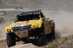 Macrae Glass and his team won the legendary Mint 400 in their first ever attempt. Photo By: eventphotodigital.com