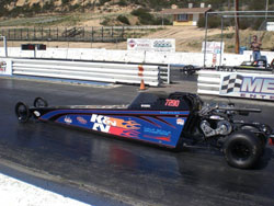 This season Madison Whitten also races the Wicked 330 Jr. Dragster owned by Keoki Desa.