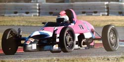 Madrid lists her vintage win in Savannah, Georgia at the Formula Vee 50th anniversary race as her 2013 highlight.