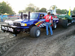 Jonathon Payne and Major Payne Pulling recently won the points race in the Lucas Oil pro Pulling League for the third consecutive season.