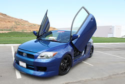 Jeff Maldonado plans to bring his 2006 Scion tC to the 2009 Specialty Equipment Market Association (SEMA) show in Las Vegas, Nevada