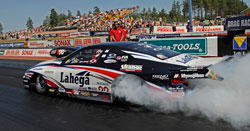 Malmgren Racing still managed to set the low ET, earn a top-speed track record, and win the race in Alastaro, Finland.