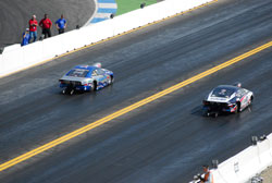 Malmgren pulled out a 6.82 in the semi-final on his way to a joint victory and a huge lead in the championship.