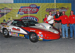 Mans Racing Pontiac Wins CIC Shootout at Jeg's Cajun SportsNationals in Bell Rose, Louisiana