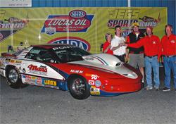 Mans Racing Pontiac Wins CIC Shootout at Jeg's Cajun SportsNationals in Bell Rose, Louisiana