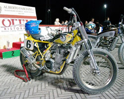 Belli's Zaeta project continues to catch worldwide attention, being that in his hands the motorcycle is nearly unbeatable.