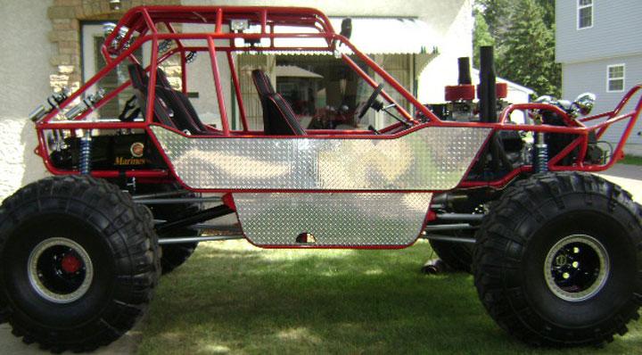 One Of A Kind 4x4 Trail Rig Rock Crawler Custom Built For Marine