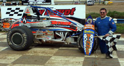 Mark Bitner wins 360 class at New Egypt Speedway in New Jersey