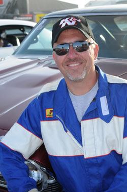 Mark Faul has had 14 national NHRA wins and was runner up eight times