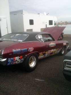 The five-time All-Stars racer is currently headed back home to Washington for the Seattle National.