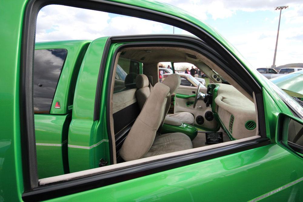 1992 Chevy Silverado Interior Chevy Silverado's Interior Was