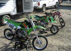 MOTUL FLUID FORCE Moto X Kidz Summer Series bikes equipped with K&N Engineering air filters