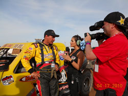 K&N sponsored Marty Hart battled through sketchy track conditions for his round five LOORS victory at Las Vegas Motor Speedway.