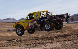 Marty Hart and his Pro-lite Off Road Racing Truck