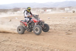Azteca Motorsports 4th place overall was the highest overall finish for a quad in SCORE history.