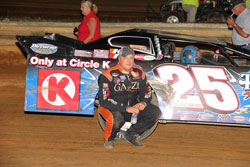 Matt Long earns his first victory of the season at Lancaster Speedway
