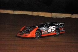 Matt Long's Number 25 Crate Dirt Late Model Car