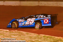 Matt Long recently earned a win at the I-77 Speedway in Chester, South Carolina.