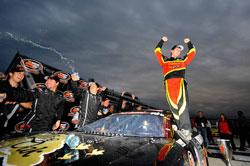 Max Gresham won the 2011 NASCAR K&N Pro Series East championship