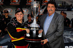 Max Gresham won two races and four poles en route to his first K&N Pro Series East championship