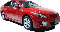 Mazda 6 with K&N Air Intake System