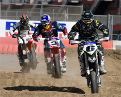 Round two fo the 2009 XTRM AMA Pro Supermoto Championship Series resumes May 16-17 at Infineon Raceway in Sonoma, California