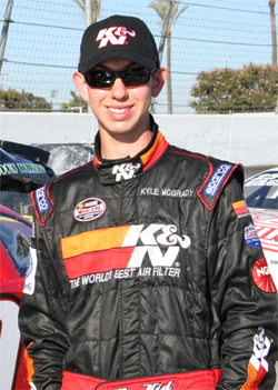 High School Senior, National Honor Society Student and NASCAR Whelen All American Series Driver Kyle McGrady