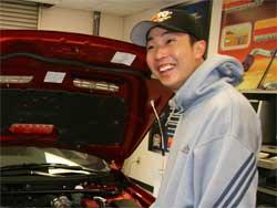 Robert Choo test the Mitsubishi Evo X at K&N