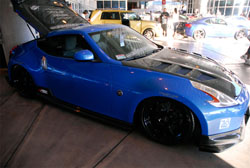 Nissan 370z aka Project Carbon Z at SEMA