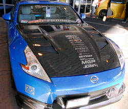 The Project Carbon Z outside SEMA North Hall