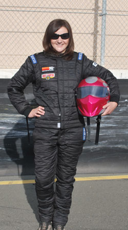 Westerman says she's totally ready to begin her attack on the 2011 race season at Infineon Raceway in only a few weeks.
