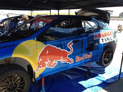 In his first ever X Games RallyCross, Bryce Menzies will be introducing a new car to the event, a 600hp Dodge Dart.