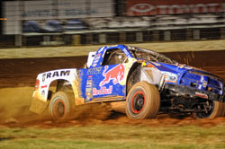 Luke Johnson and Menxies Motorsports were excited upon learning that rounds 5 and 6 of the TORC Off Road Racing Series would be held at the Charlotte Motor Speedway.