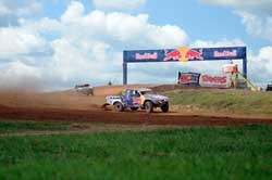 Racing in the Pro Light class of the TORC Off-Road Racing Series, Menzies Motorsports team member, Luke Johnson, earned a place on the podium at the Bark Rover International Raceway.